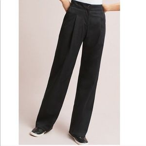 Anthropologie The Essential Wide Leg Trouser